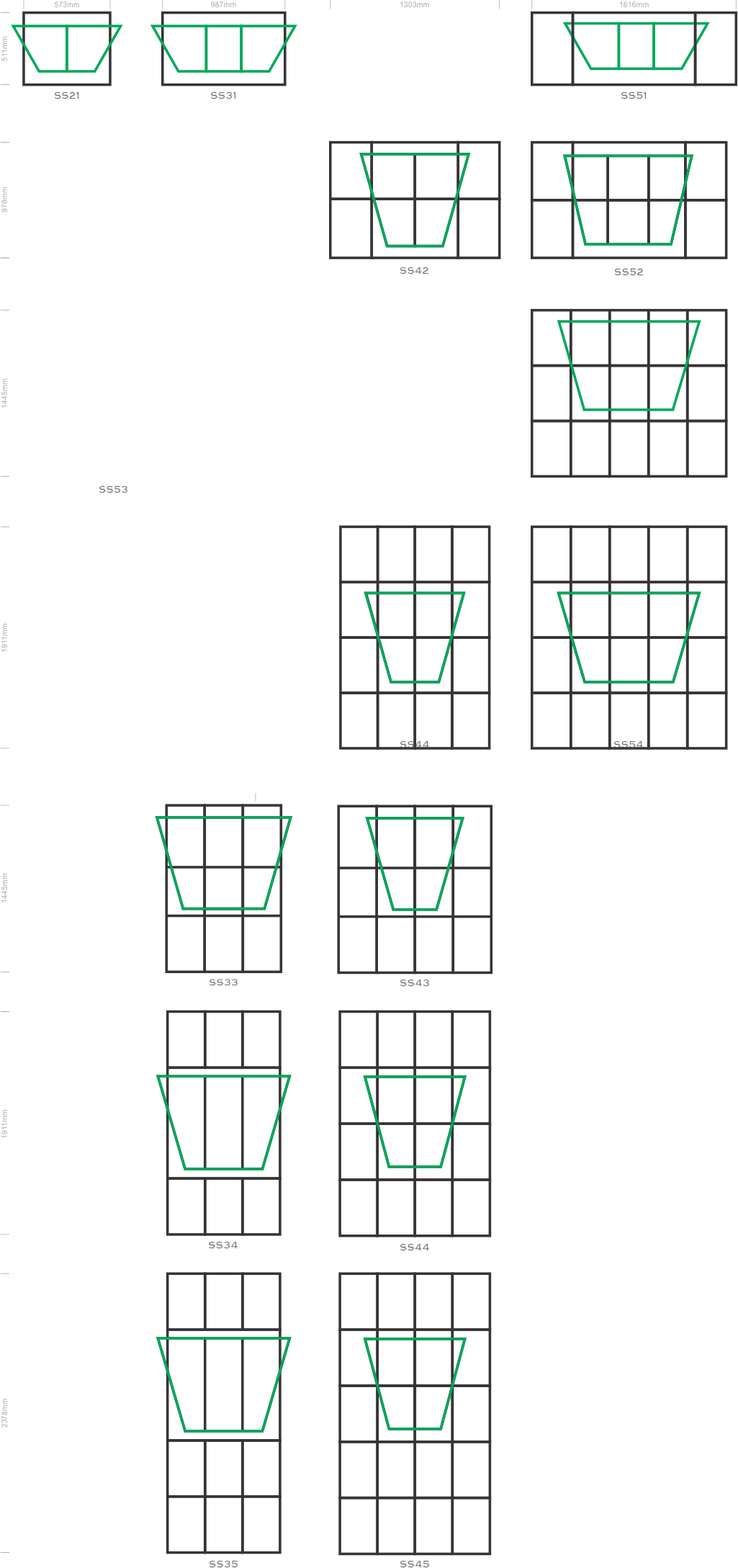 Industrial Type Window Frames | Nelspruit Windows & Doors